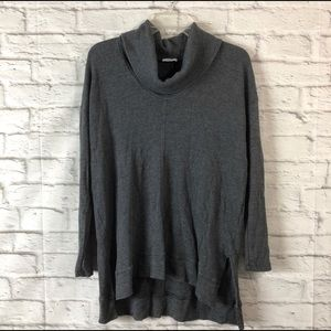 SPLENDID Oversized Waffle Knit Cowl neck Sweater